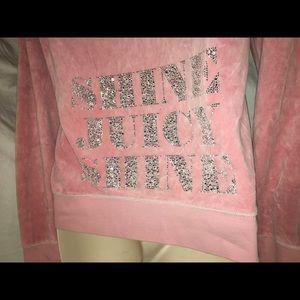 Juicy Couture Tops - Juicy couture shine juicy shine women's hoodie